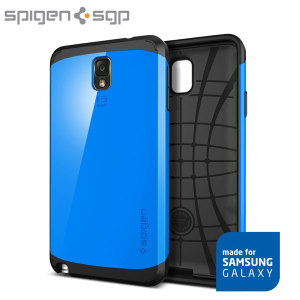 Spigen Slim Armor Case for Samsung Galaxy Note 3 - Dodger Blue
