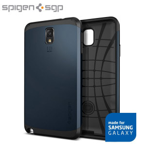 Spigen Slim Armor Case for Samsung Galaxy Note 3 - Metal Slate