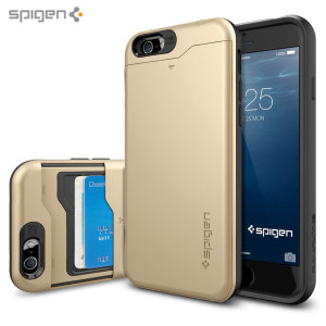 Spigen Slim Armor CS iPhone 6 Case - Champagne Gold