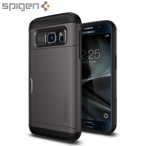 Spigen Slim Armor CS Samsung Galaxy S7 Case - Gunmetal