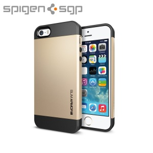 Spigen Slim Armor S Case for iPhone 5S / 5 - Champagne Gold