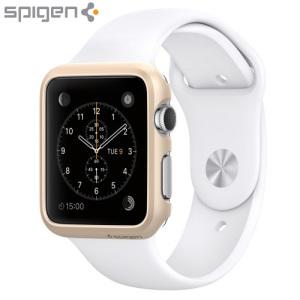 Spigen Thin Fit Apple Watch Series 2 / 1 Case (38mm) - Champagne Gold