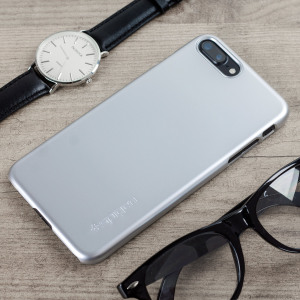 Spigen Thin Fit iPhone 7 Plus Shell Case - Satin Silver