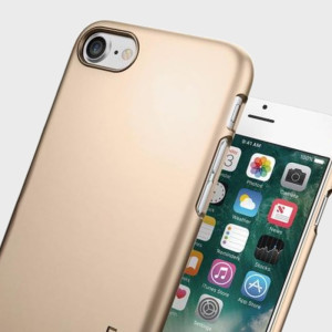 Spigen Thin Fit iPhone 7 Shell Case - Champagne Gold