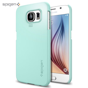 Spigen Thin Fit Samsung Galaxy S6 Shell Case - Mint
