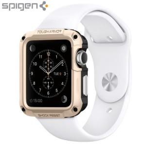 Spigen Tough Armor Apple Watch 2 / 1 Case (42mm) - Champagne Gold