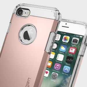 Spigen Tough Armor iPhone 7 Case - Rose Gold