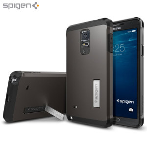 Spigen Tough Armor Samsung Galaxy Note 4 Case - Gunmetal