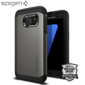 Spigen Tough Armor Samsung Galaxy S7 Case  - Gunmetal