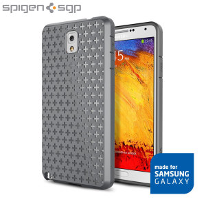 Spigen Ultra Capsule Series Case for Samsung Galaxy Note 3 - Grey