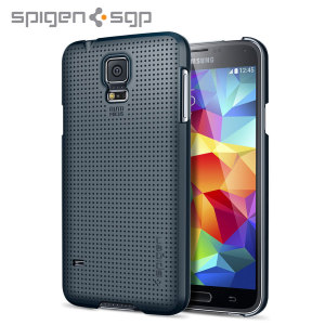 Spigen Ultra Fit Case for Samsung Galaxy S5 - Metal Slate