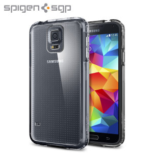 Spigen Ultra Hybrid Case for Samsung Galaxy S5 - Crystal Clear