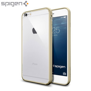 Spigen Ultra Hybrid iPhone 6S Plus / 6 Plus Bumper Case Champagne Gold