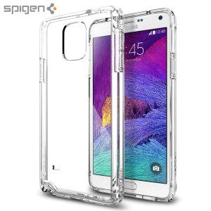 Spigen Ultra Hybrid Samsung Galaxy Note 4 Bumper Case - Crystal Clear