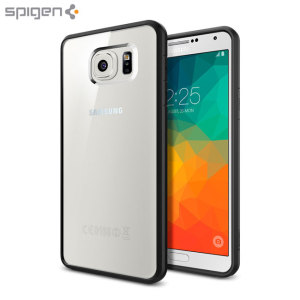 Spigen Ultra Hybrid Samsung Galaxy Note 5 Case - Black / Clear