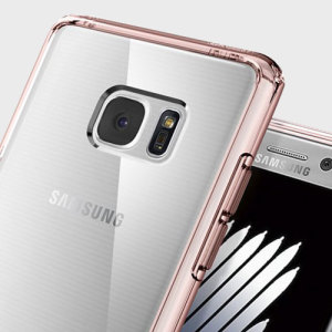 Spigen Ultra Hybrid Samsung Galaxy Note 7 Case - Crystal Rose