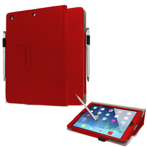 Stand and Type Case for iPad Air - Red
