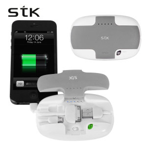 STK 4,500mAh Emergency Power Bank (All iPhones & MicroUSB Devices)