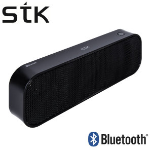 STK Portable Bluetooth Stereo Speaker - Black