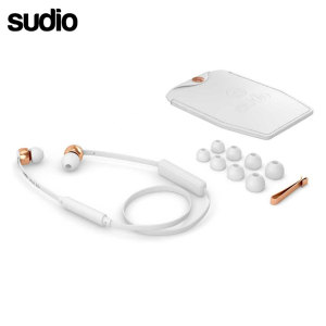 Sudio VASA BLA Bluetooth In Ear Headphones - White / Rose Gold