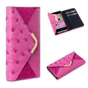 Suki iPhone 5C Leather-Style Case - Pink