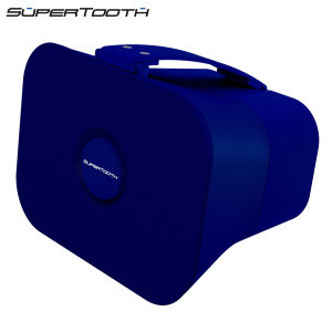 SuperTooth D4 Portable Stereo Bluetooth Speaker - Blue