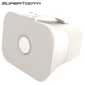 SuperTooth D4 Portable Stereo Bluetooth Speaker - White