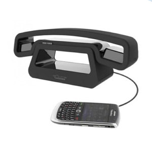 SwissVoice ePure Bluetooth Handset with Micro USB Charger - Black