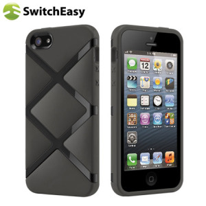 SwitchEasy Bonds Hybrid Case for iPhone 5S / 5 - Black