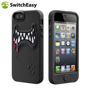 SwitchEasy Monsters Case for iPhone 5 - Black
