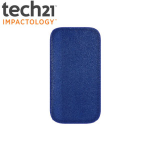 Tech21 d3o Leather Slip Case For Samsung Galaxy S3 - Blue Leather