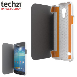 Tech21 Impact Snap Case with Cover for Samsung Galaxy S4 Mini - White