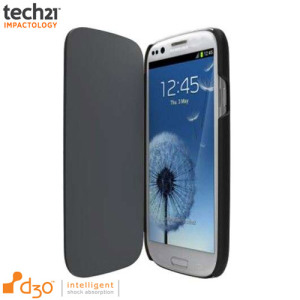 Tech21 Impact Snap Case with Flip for Samsung Galaxy S3 Mini - Black