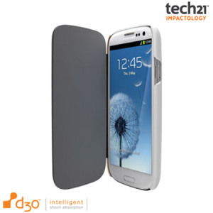 Tech21 Impact Snap Case with Flip for Samsung Galaxy S3 - White