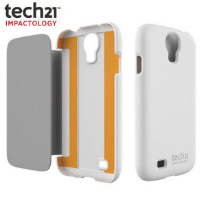 Tech21 Impact Snap Case with Flip for Samsung Galaxy S4 - White