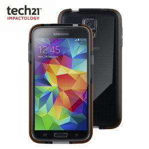 Tech21 Samsung Galaxy S5 Impact Mesh Case - Smokey