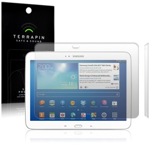Terrapin Screen Protectors for Galaxy Tab 3 10.1 - 2 Pack