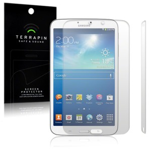 Terrapin Screen Protectors for Galaxy Tab 3 8.0 - 2 Pack