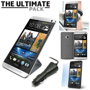 The Ultimate HTC One M7 Accessory Pack - Black