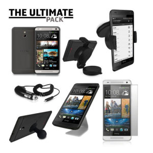 The Ultimate HTC One Mini Accessory Pack - Black