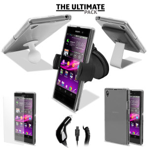 The Ultimate Sony Xperia Z1 Accessory Pack - White