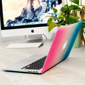 ToughGuard MacBook Air 13 inch Hard Case - Cosmic Haze (Rainbow)