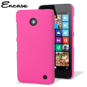 ToughGuard Nokia Lumia 630 / 635 Rubberised Case - Solid Hot Pink