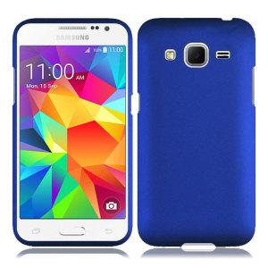 ToughGuard Samsung Galaxy Core Prime Rubberised Case - Blue