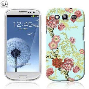 Toughguard Samsung Galaxy S3 Hard Case - Vintage Floral