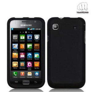 ToughGuard Shell For Samsung Galaxy S - Black