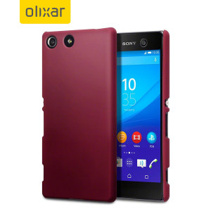 ToughGuard Sony Xperia M5 Rubberised Case - Red