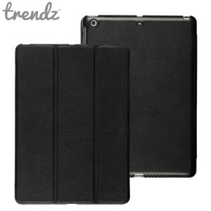Trendz Folding Folio Stand Case for iPad Air - Black