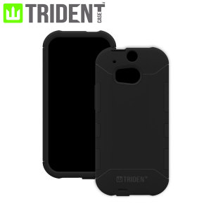 Trident Aegis Case for HTC One M8 - Black