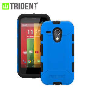 Trident Aegis Case for Moto G - Blue